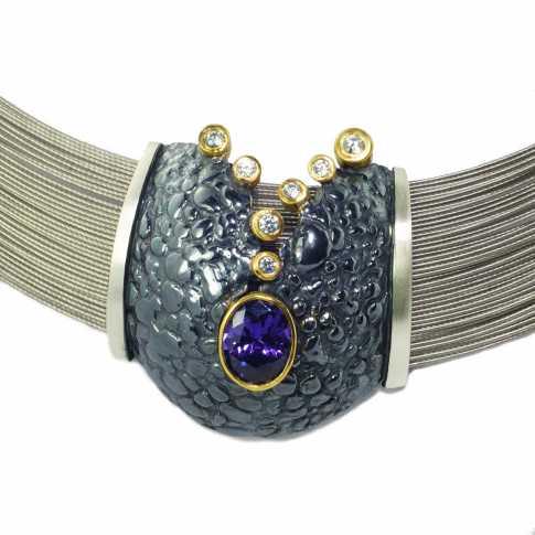 Oryginalny srebrny naszyjnik