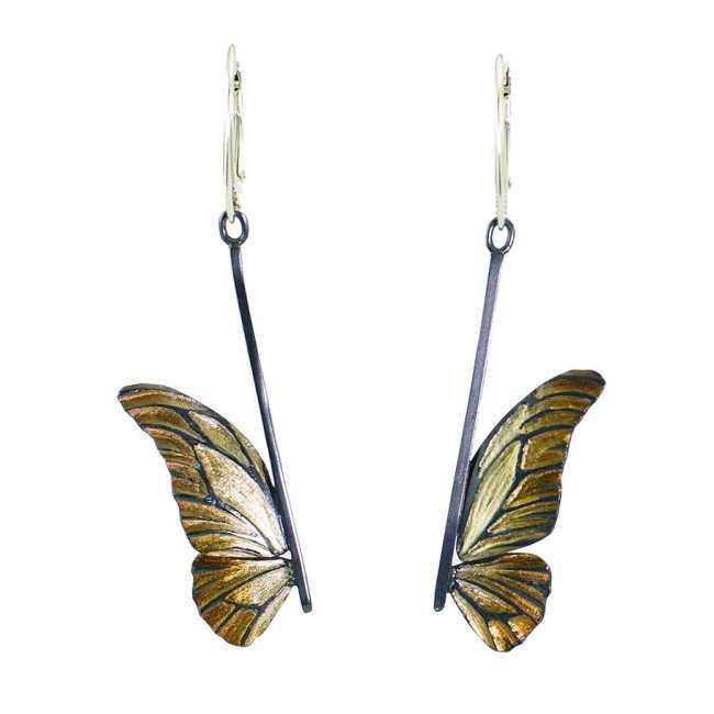 Kolczyki Motyle