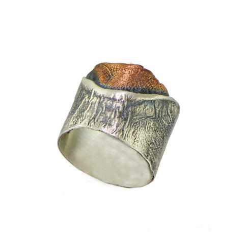 Srebrny pierścionek DORIAN GRABOWSKI