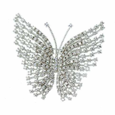 Butterfly - Silver Brooch LINE ARGENT